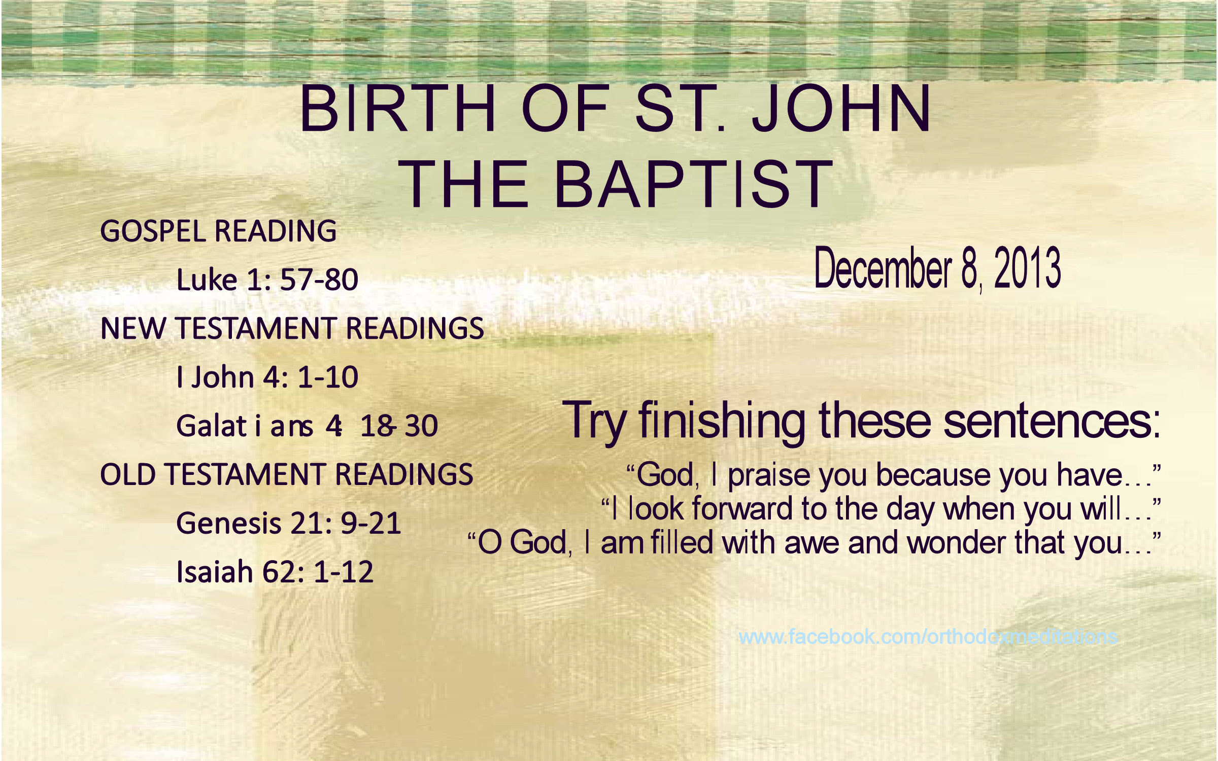 Birth of St. John the Baptist_001