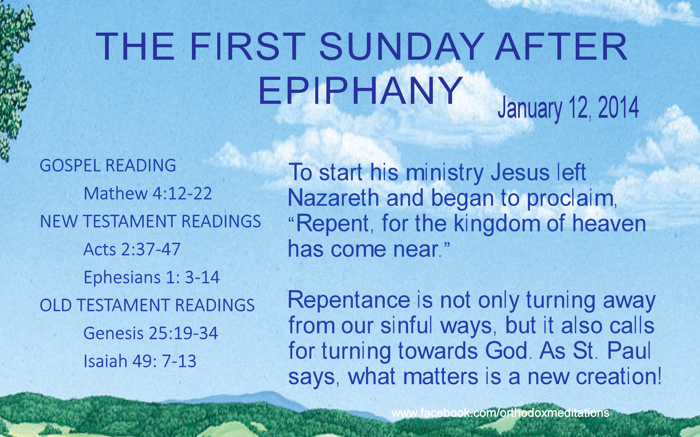 THE FIRST SUNDAY AFTER EPIPHANY NEW_001