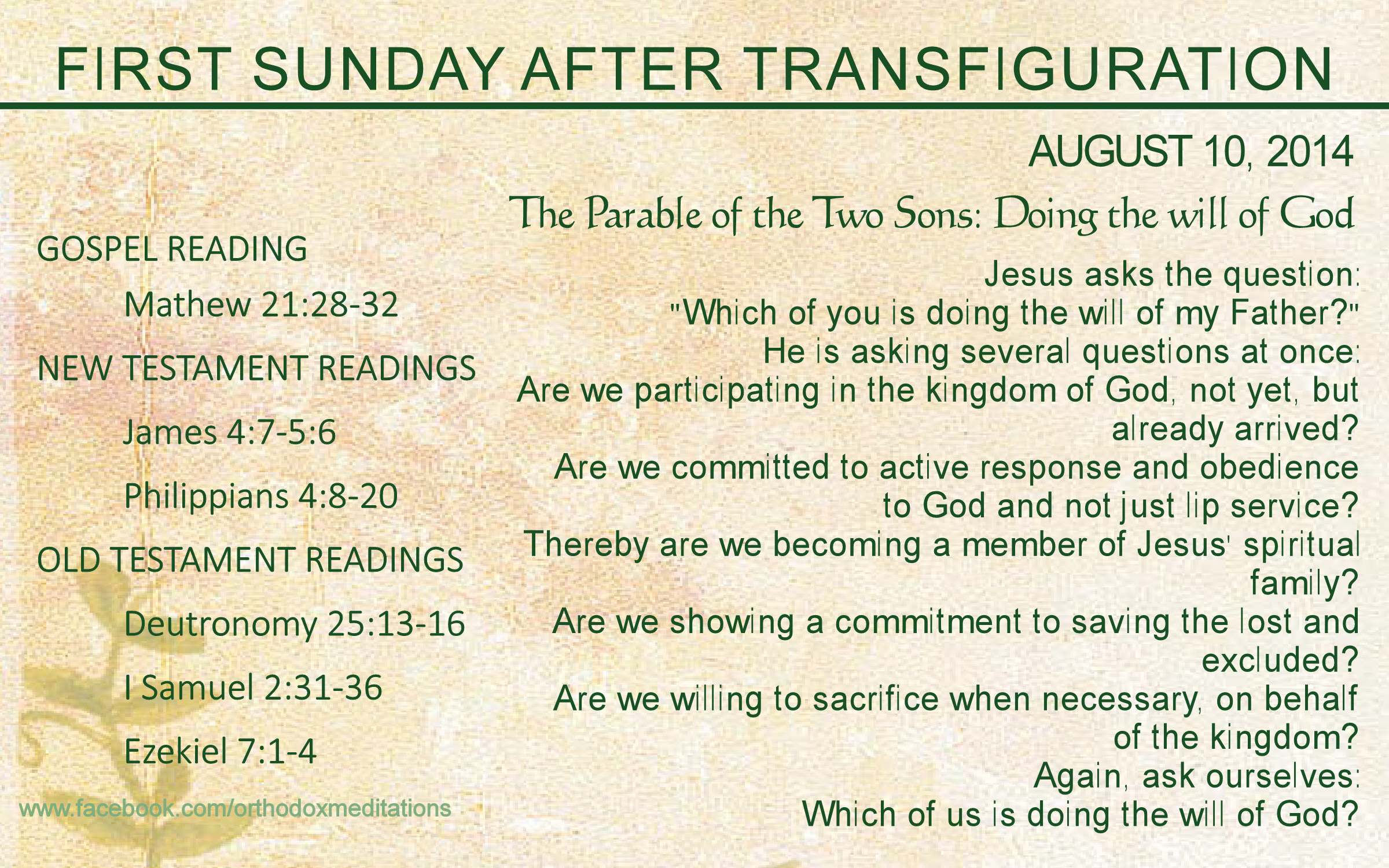 FIRST SUNDAY AFTER TRANSFIGURATION_001